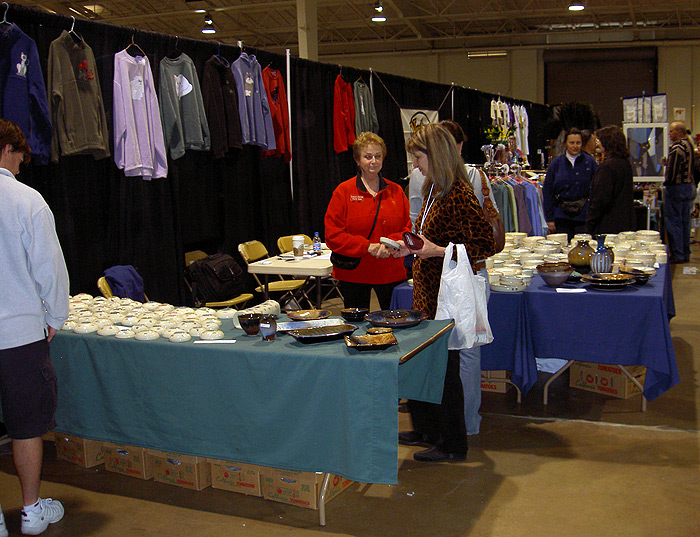 Cat Show Booth